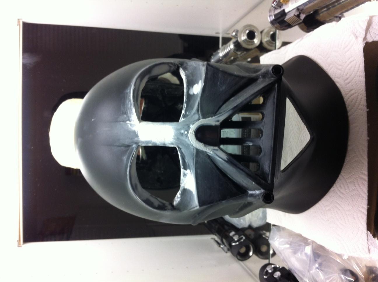 My Rubies Vader Helmet Upgrade Wip Rpf Costume And Prop Maker